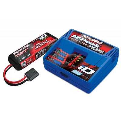 Ensemble complet batterie et chargeur TRAXXAS