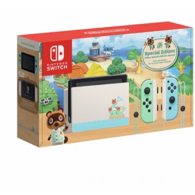 Console Switch Animal crossing edition